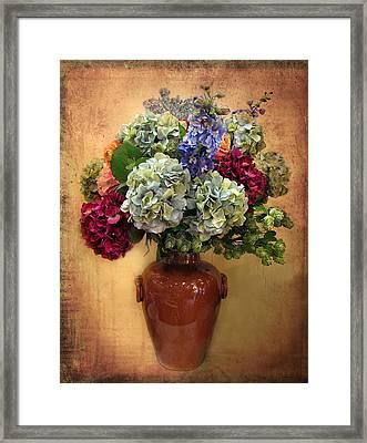 Hydrangea Still Life Framed Print