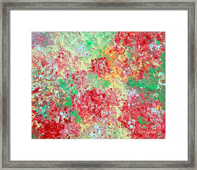 Framed Print featuring the painting Hydrangeas II by Alys Caviness-Gober