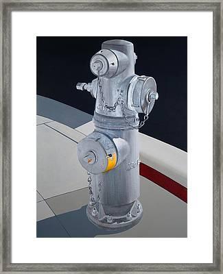 Hydrant 90210 Framed Print by Jennifer Walker