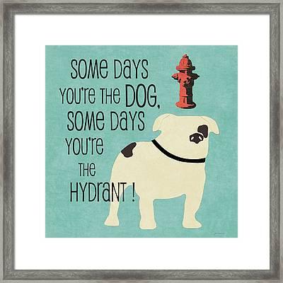 Hydrant Framed Print by Jo Moulton