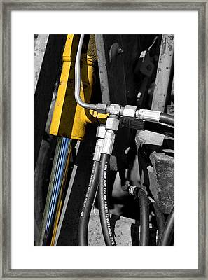 Hydraulic Muscle Framed Print by Paul Lilley