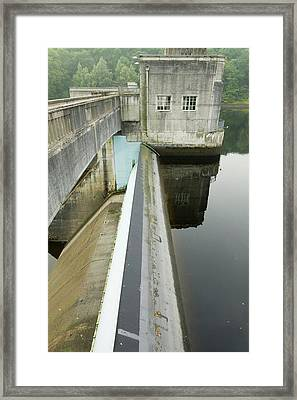Hydro Electric Power Station Framed Print by Ashley Cooper
