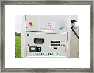 Hydrogen Fuel Pump Framed Print