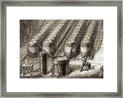 Hydrogen Gas Production Plant Framed Print by Sheila Terry