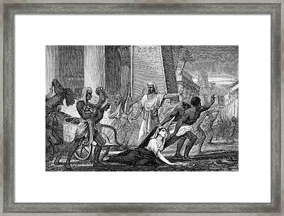 Hypatia Framed Print by Universal History Archive/uig