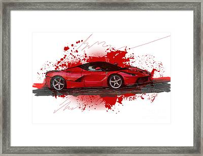 Hyper Car Framed Print