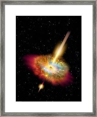 Hypernova Framed Print by Don Dixon