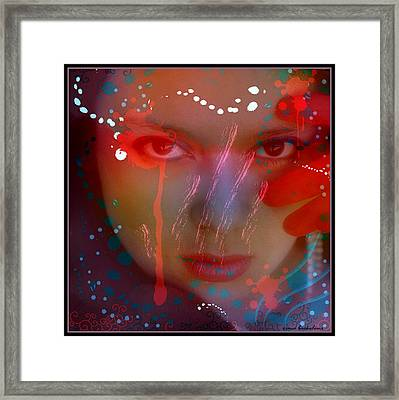 Hypnotic Beauty Framed Print by Irma BACKELANT GALLERIES