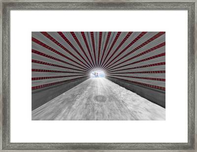 Hypnotic Playmates Arch Framed Print by Susan Candelario