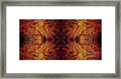 Hypnotic Sand Framed Print