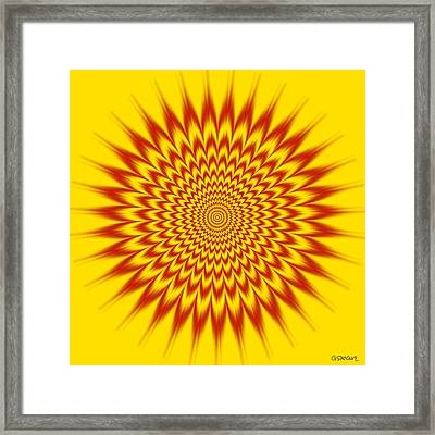 Hypnotic Vibes Framed Print