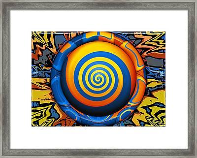 Hypnotrippery Framed Print by Wendy J St Christopher