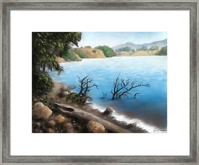 Hyrum Dam Framed Print by Jeremiah Epperson