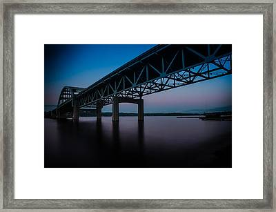 I-90 East Bound Framed Print by Brian Xavier