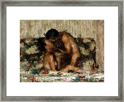 I Adore You Framed Print