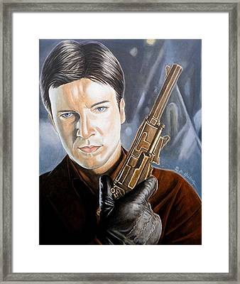 I Aim To Misbehave Framed Print by Al  Molina