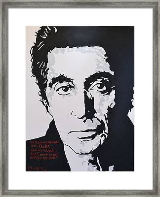 I Am Al Framed Print