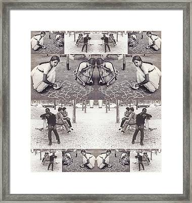 I Am Already At The End Of Infinity 2014 Framed Print by James Warren