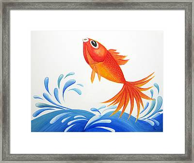 I Am Back  Framed Print by Oiyee At Oystudio