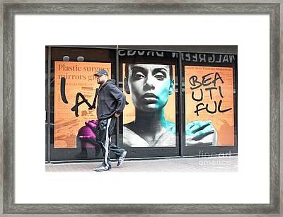 I Am Beautiful Framed Print by Joe Jake Pratt