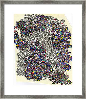 I Am Beginning To See A Pattern Framed Print