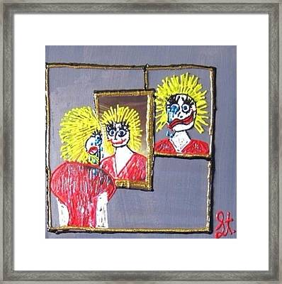 I Am Bipolar 2 Framed Print