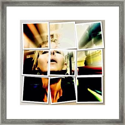 I Am Broken  Framed Print by Lisa Piper