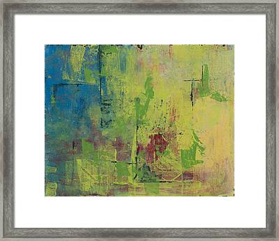 Curious Yellow Framed Print