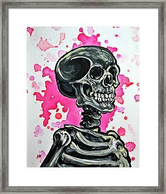 I Am Dead Inside  Framed Print by Ryno Worm  Tattoos
