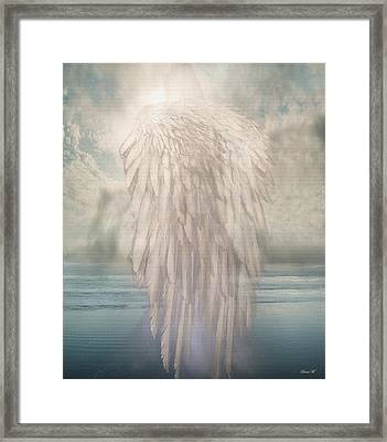 I Am Free Framed Print by David M ( Maclean )