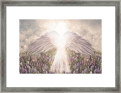 I Am Grateful Framed Print by David M ( Maclean )