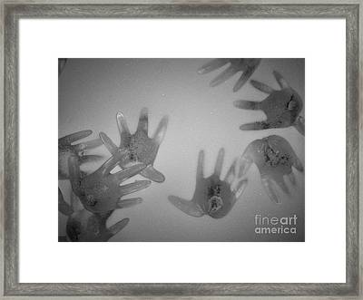 White Out Framed Print by Kristine Nora