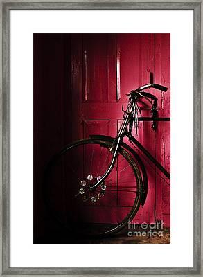 I Am Here Framed Print by Vineesh Edakkara