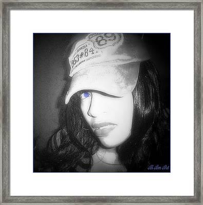 I Am Hip Hop Framed Print