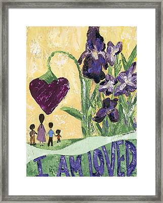 I Am Loved Framed Print