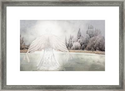 I Am Peaceful Framed Print by David M ( Maclean )
