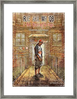 I Am Queensbridge Framed Print