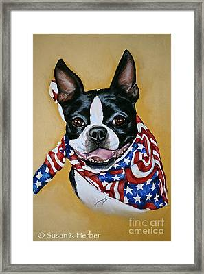 I Am Sam Framed Print by Susan Herber