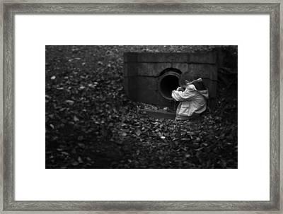 I Am Scared Framed Print by Svetlana Sewell
