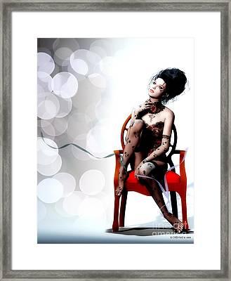 I Am Framed Print by Shanina Conway