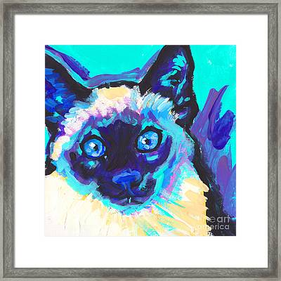 I Am Siamese Framed Print