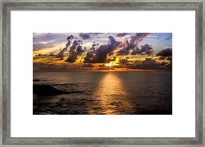 I Am The Light Framed Print by Karen Wiles