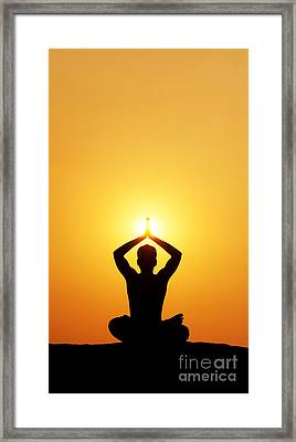 I Am Framed Print by Tim Gainey