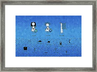 I Am What I Am Framed Print by Gianfranco Weiss