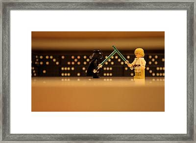 I Am Your Father Framed Print