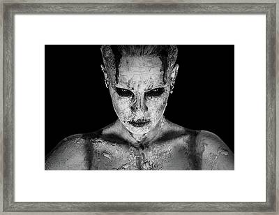 I Am Your Queen Framed Print
