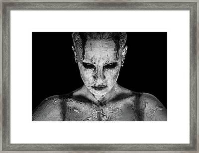 I Am Your Queen Framed Print by Marco De Waal