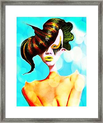 I Am Yours Framed Print by Yosi Cupano