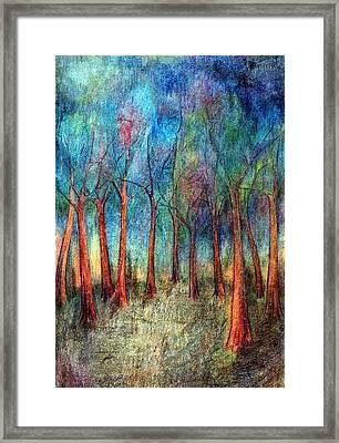 I Arose Morning  Framed Print by Wojtek Kowalski