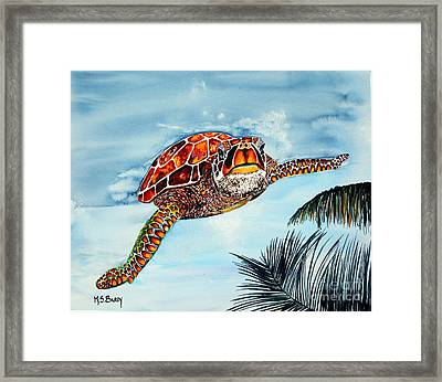 I Beleive I Can Fly Framed Print by Maria Barry